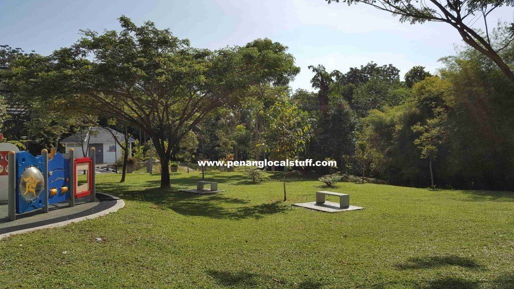 Penang Youth Park Playground Benches