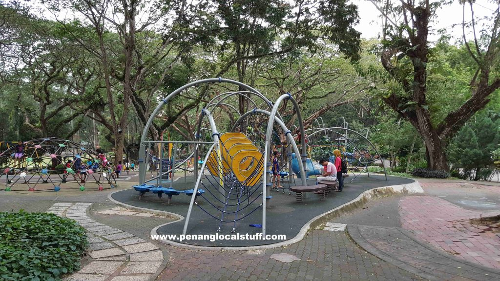 Penang Youth Park Playground Obstacle Equipment