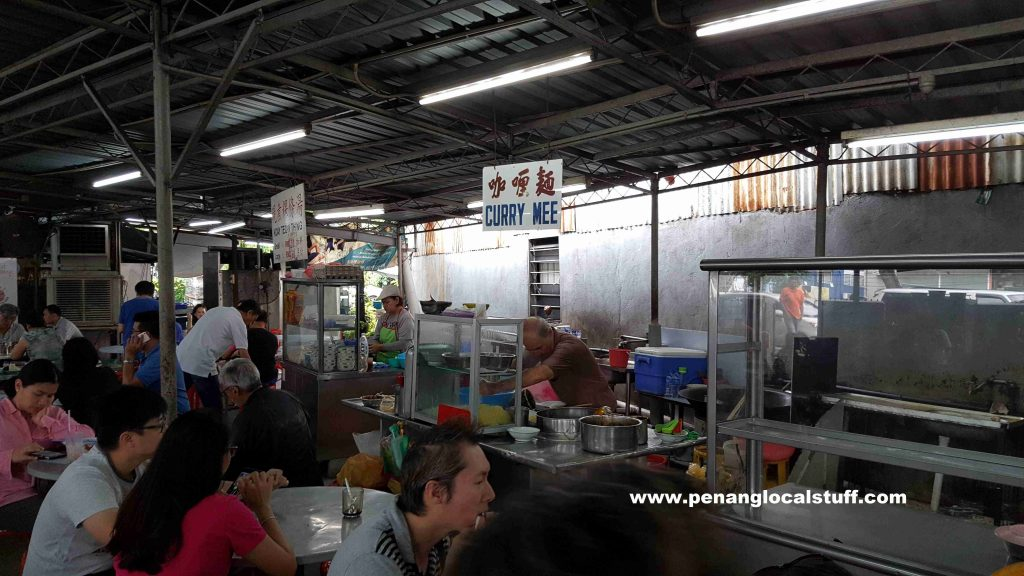 Penang Curry Mee Stall At Lee Huat Cafe