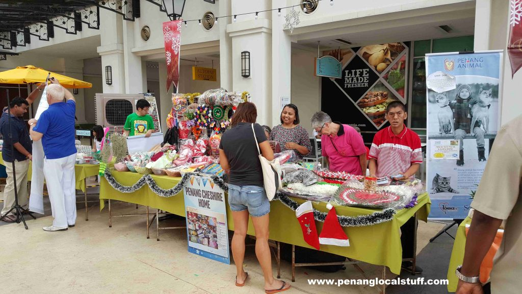 Straits Quay Christmas Charity Bazaar Penang Cheshire Home