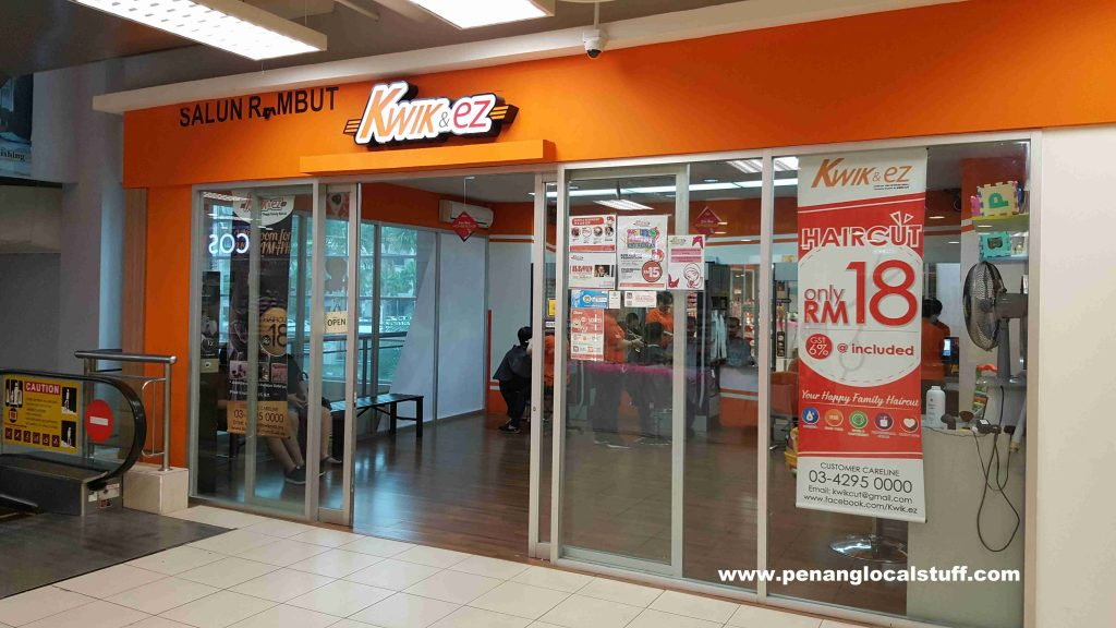Kwik & EZ Hair Salon Tesco Jelutong