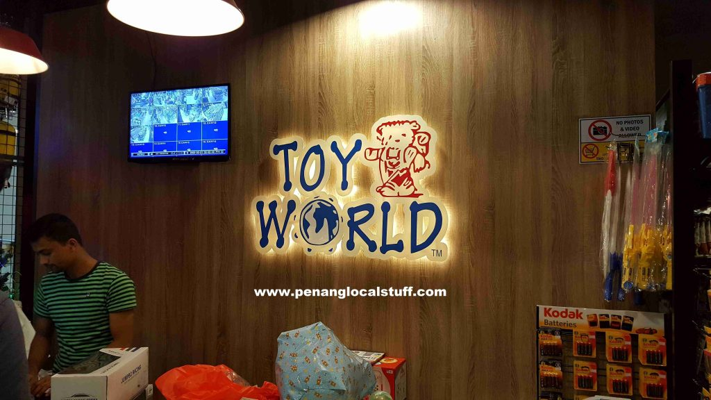 Toy World Gurney Paragon Payment Counter