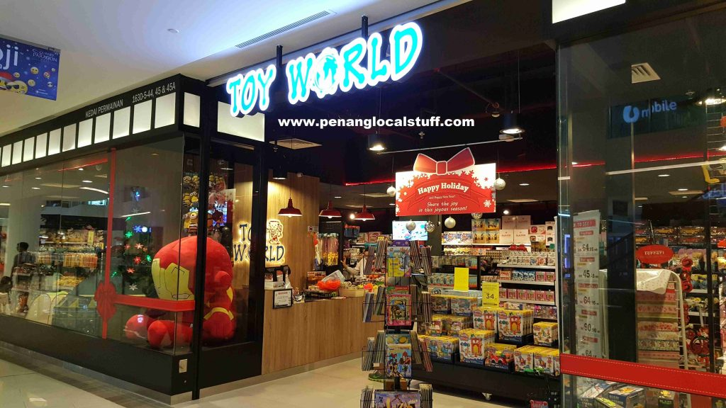 Toy World Gurney Paragon Store Entrance