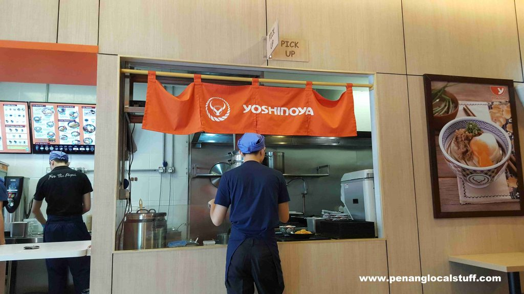 Yoshinoya E-Gate Order Pick-up Counter