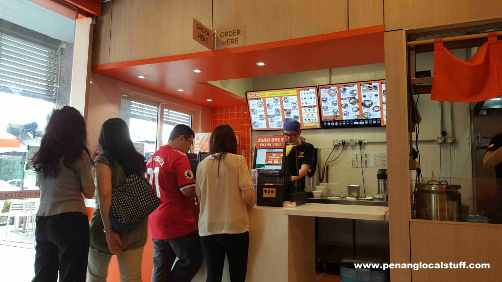 Yoshinoya E-Gate Ordering Counter