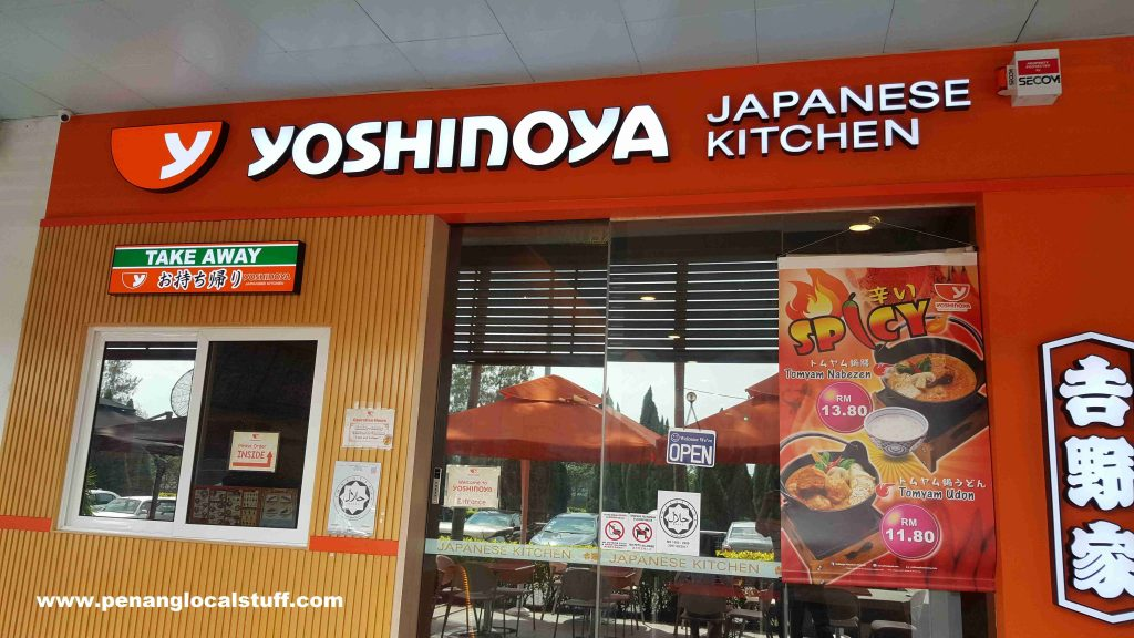Yoshinoya Japanese Kitchen In Penang
