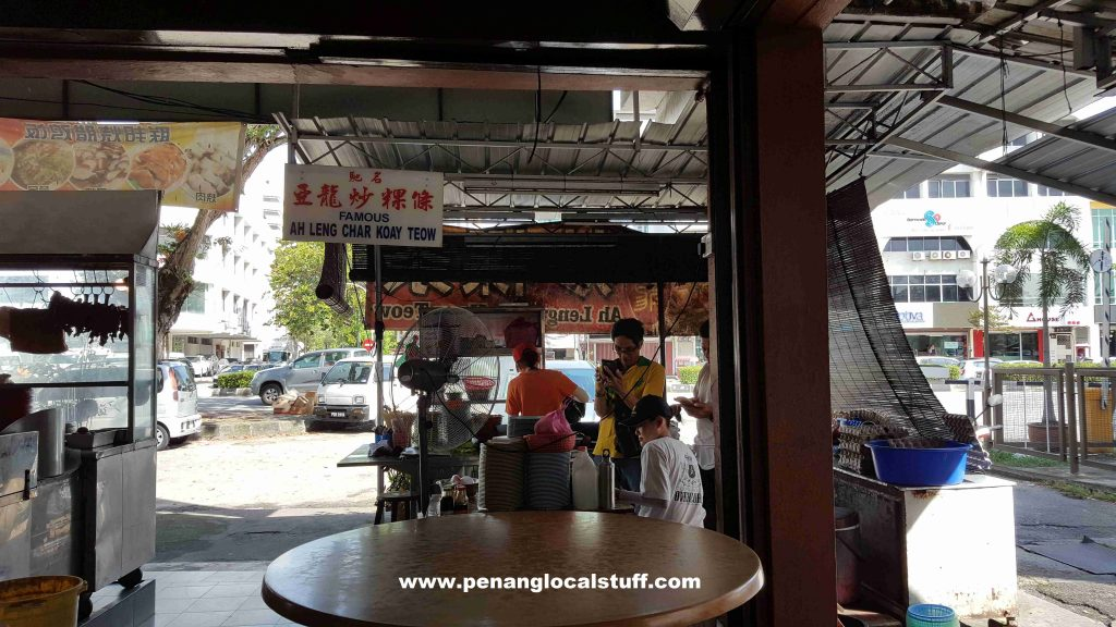 Famous Ah Leng Char Koay Teow Stall