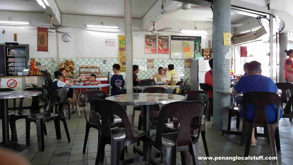 Inside Khoon Hiang Cafe