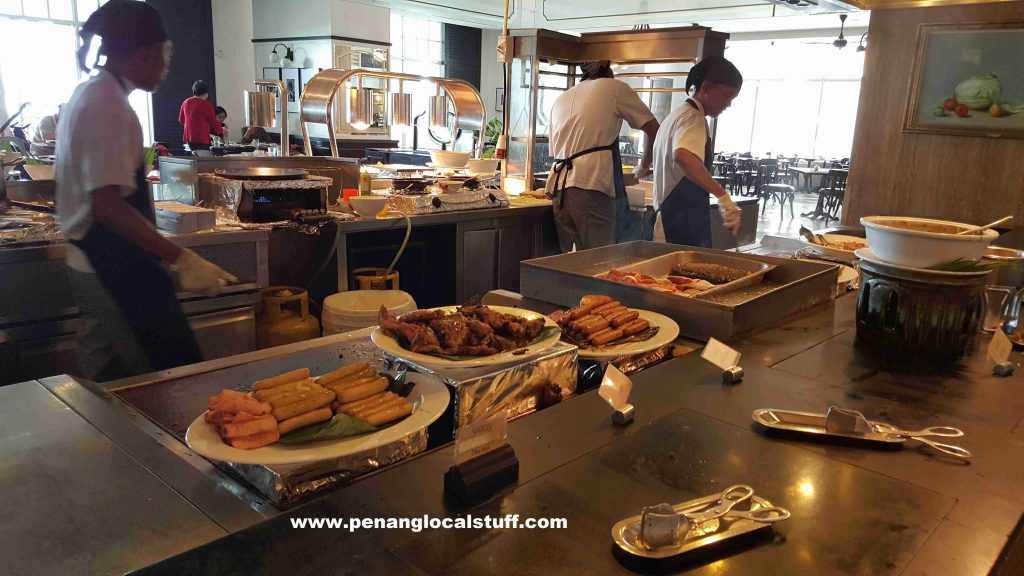 Sarkies Lunch Buffet - Teppanyaki