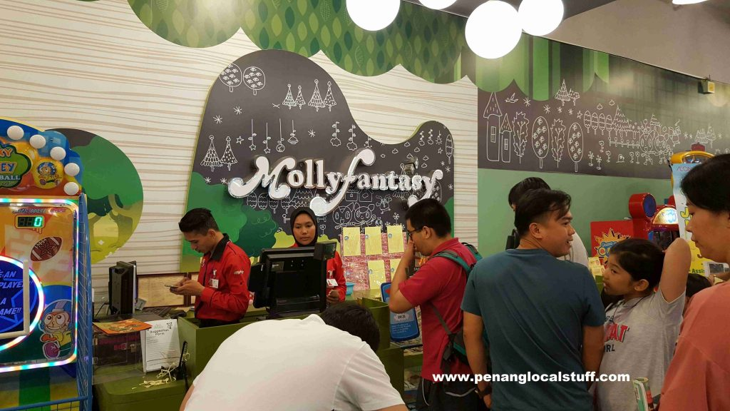 Molly Fantasy At AEON Queensbay Mall Penang