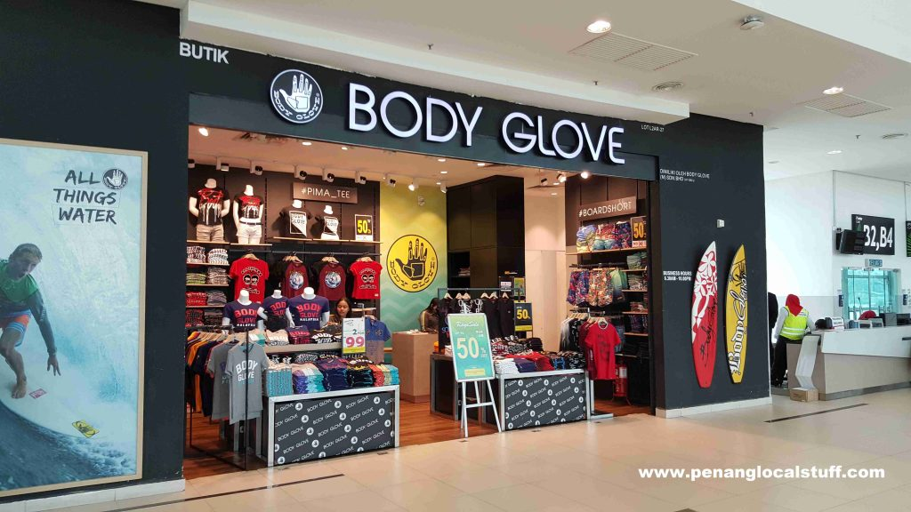Body Glove At Penang Airport