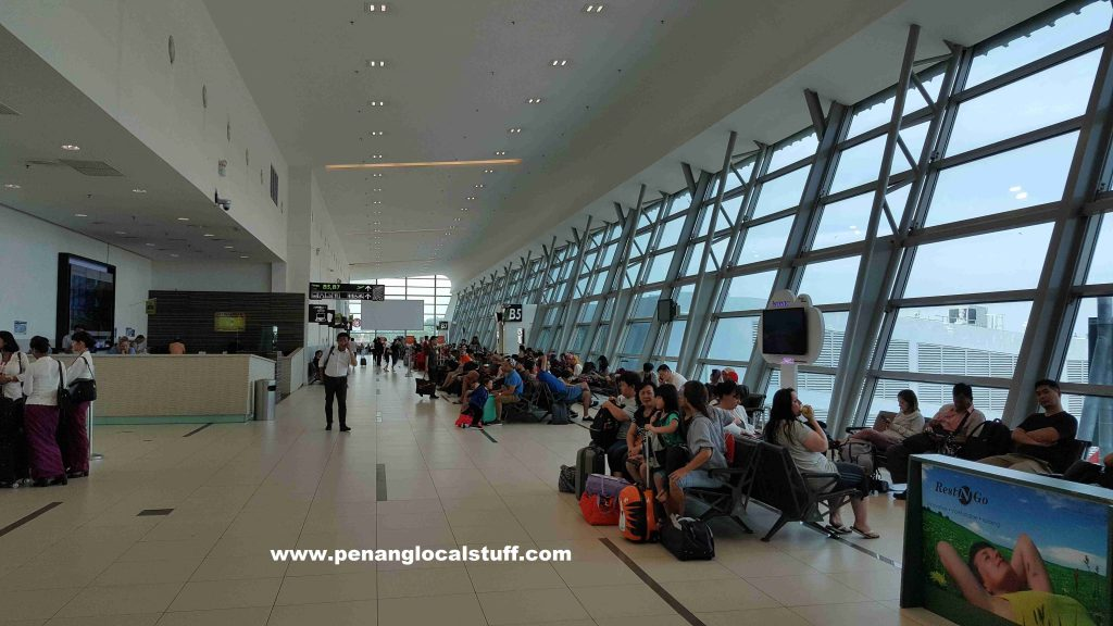 Penang Airport Departure Hall