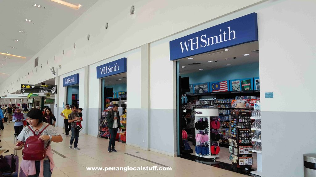 WHSmith At Penang Airport