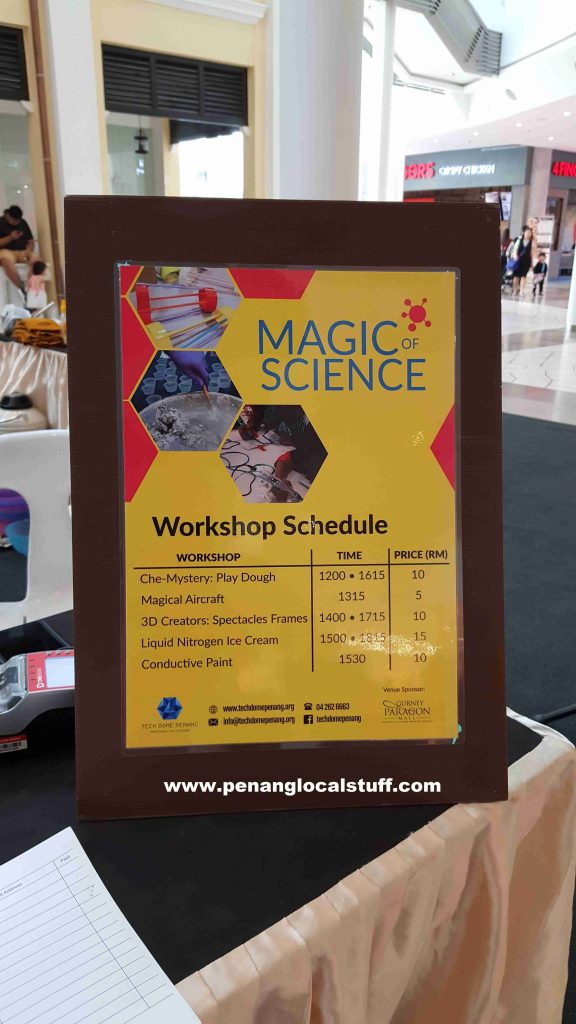 Gurney Paragon Magic Of Science Workshop Schedule
