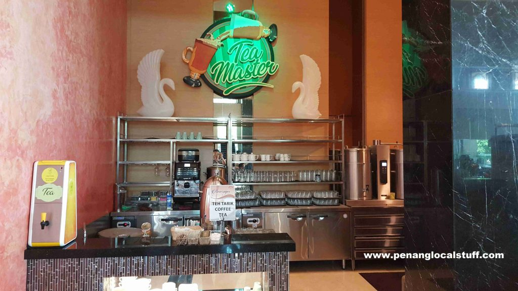 The Light Hotel Buffet Coffee Station