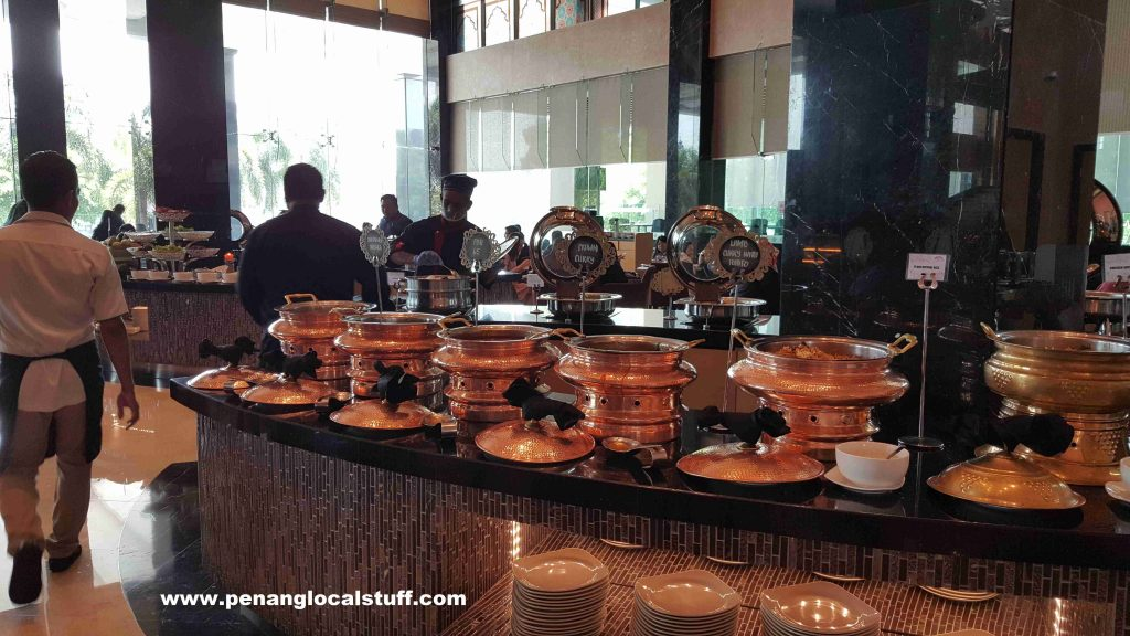 The Light Hotel Buffet Dishes