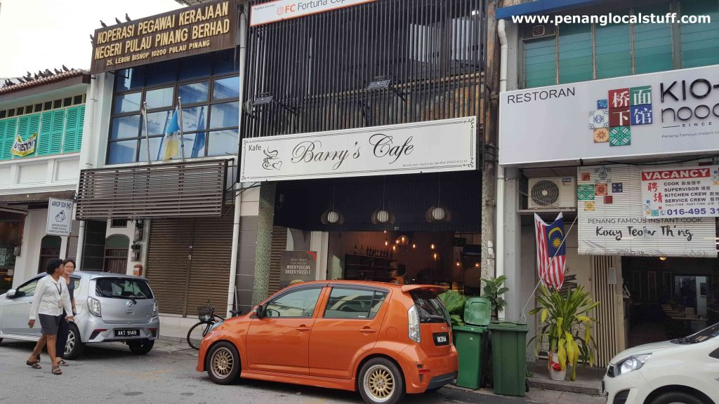Barry's Cafe Lebuh Bishop Penang