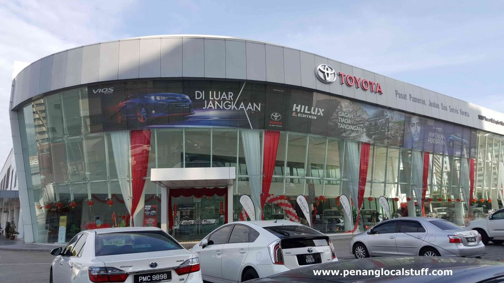 Toyota Sales And Service Centre Penang