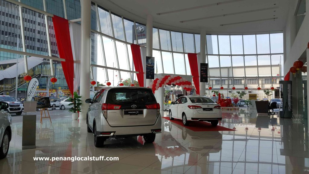 Toyota Sungai Pinang Showroom