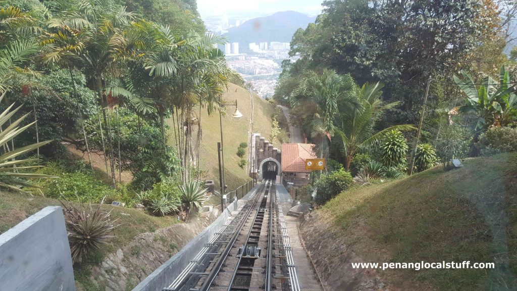 View From Funicular Train