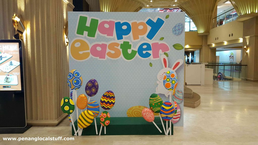 Decorated Happy Easter Backdrop