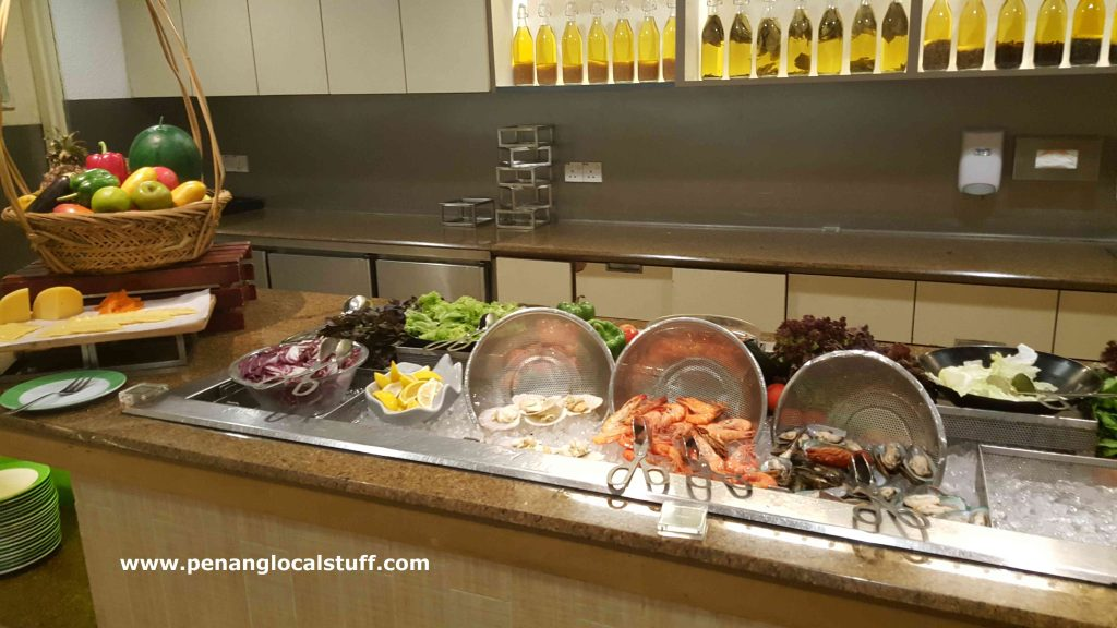 Garden Cafe Buffet Cold Seafood