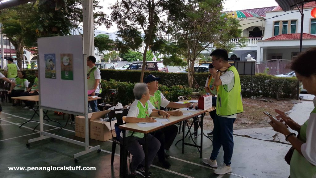 BLIA Walkathon Registration Counter