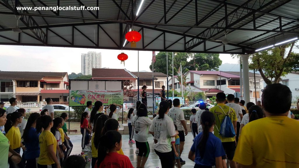 BLIA Walkathon Warm Up Session