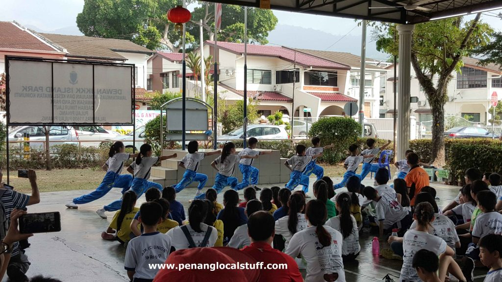 Union Primary School Wushu Performance