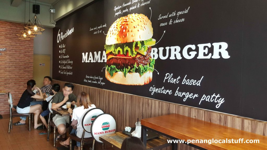 Mama Burger Dining Area