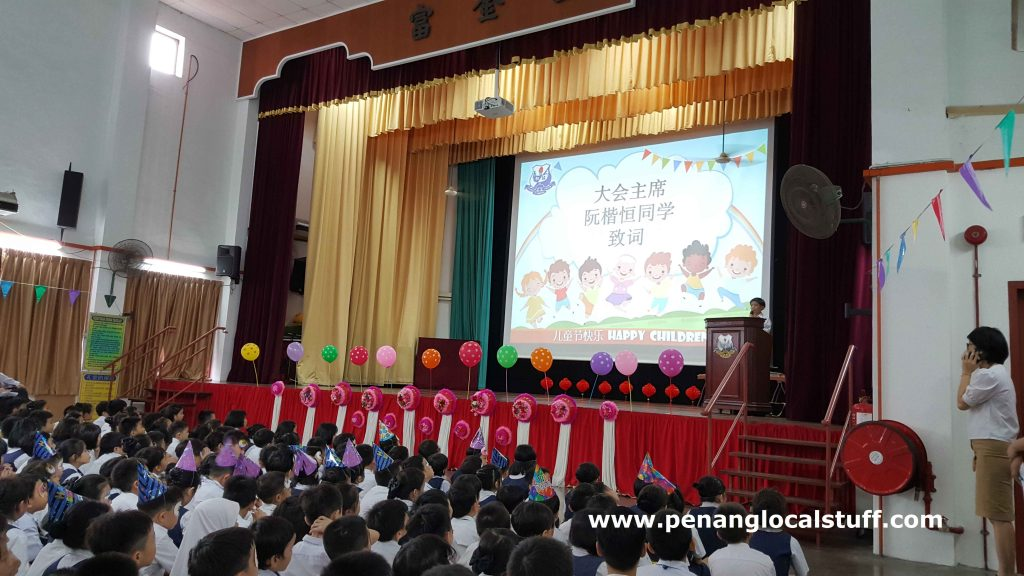 Children's Day Celebration At Union Primary School Penang