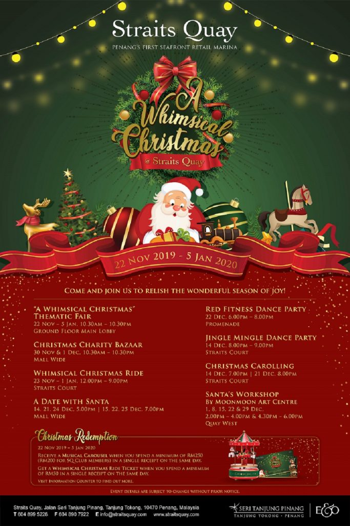 Christmas Events At Straits Quay