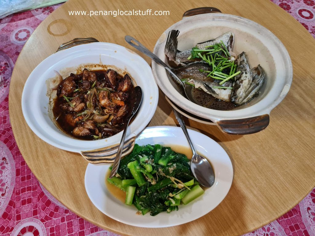 Dishes At Chin Bee Tea Restaurant