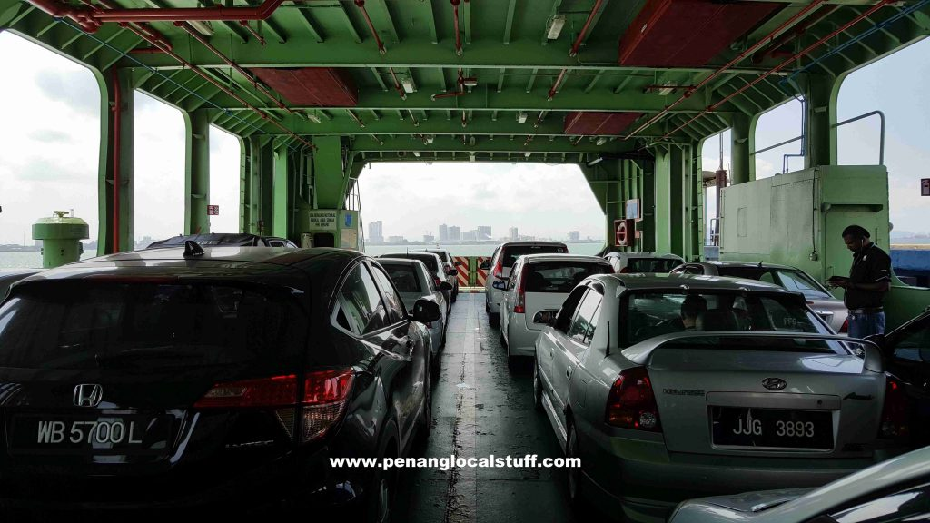 Inside The Penang Ferry