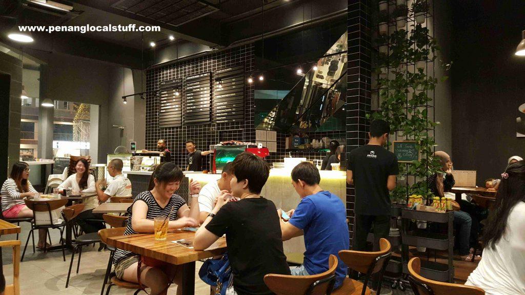 Inside Arang Coffee Bayan Baru