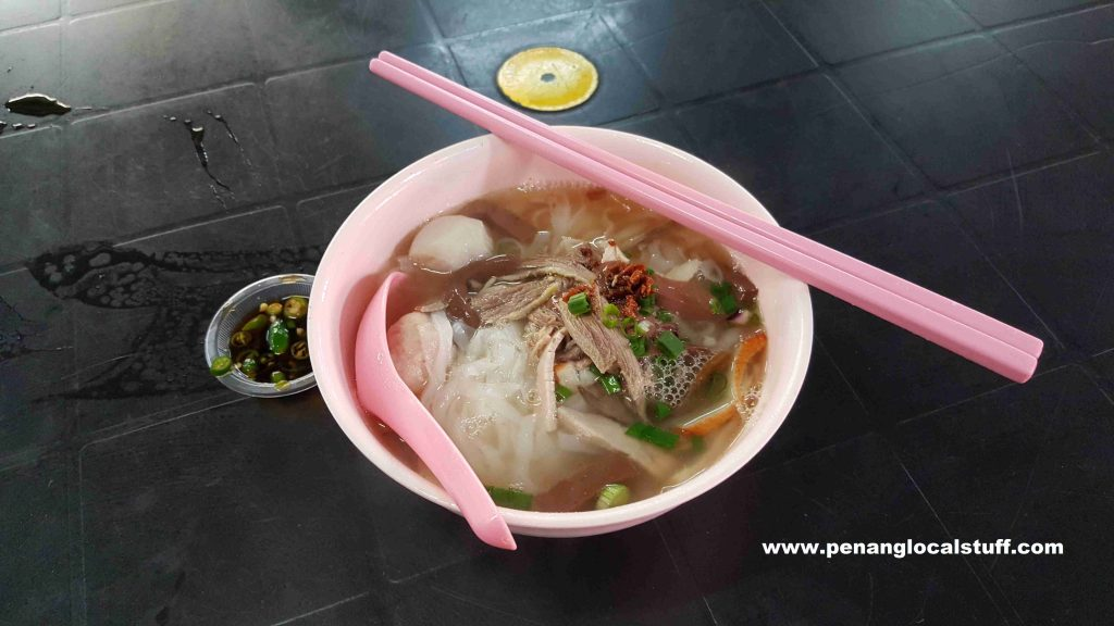 Lum Lai Duck Meat Koay Teow Th'ng