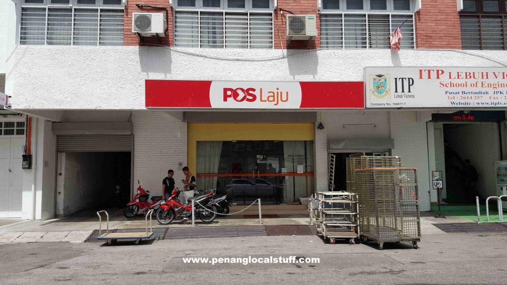 Pos Laju Lebuh Victoria Branch Penang
