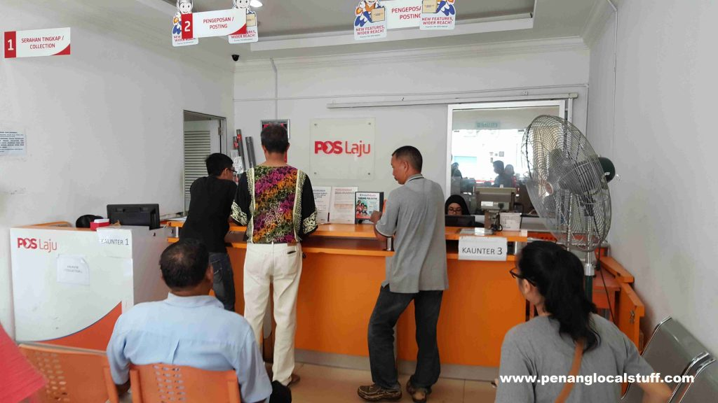 Pos Laju Lebuh Victoria Service Counters