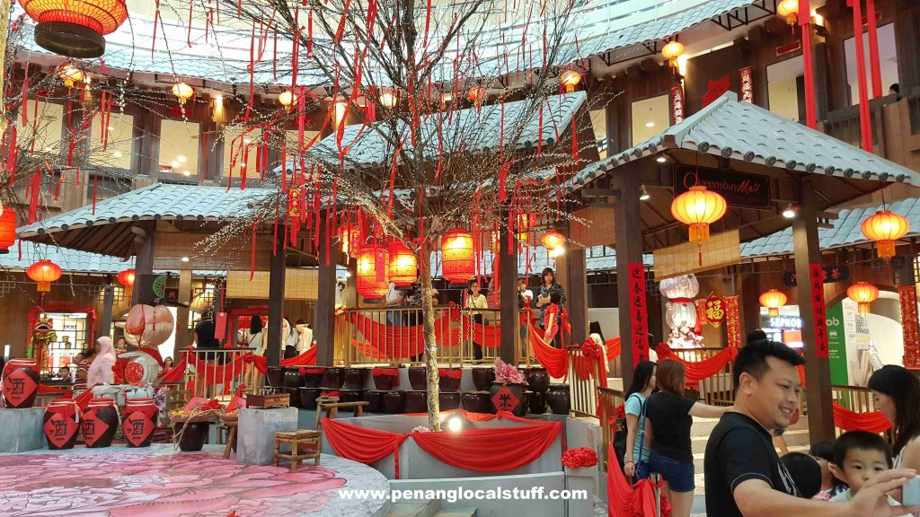 Queensbay Mall Chinese New Year Decorations