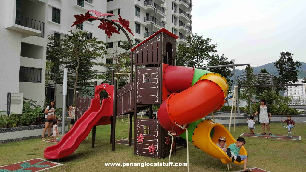 Tree Sparina Playground Slides