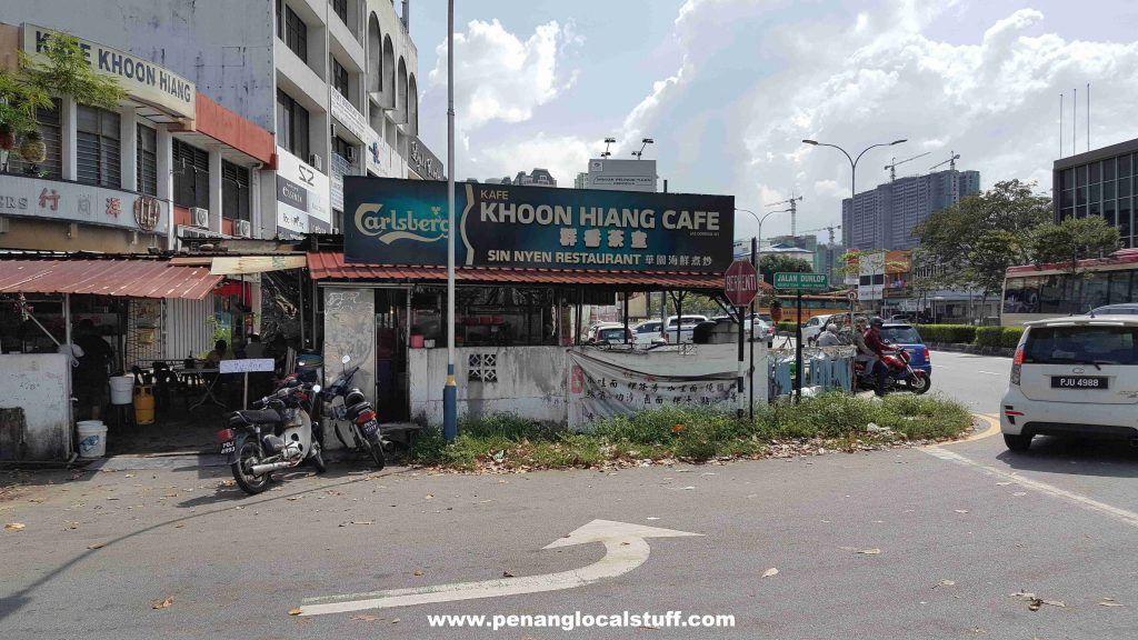 Khoon Hiang Cafe Georgetown Penang