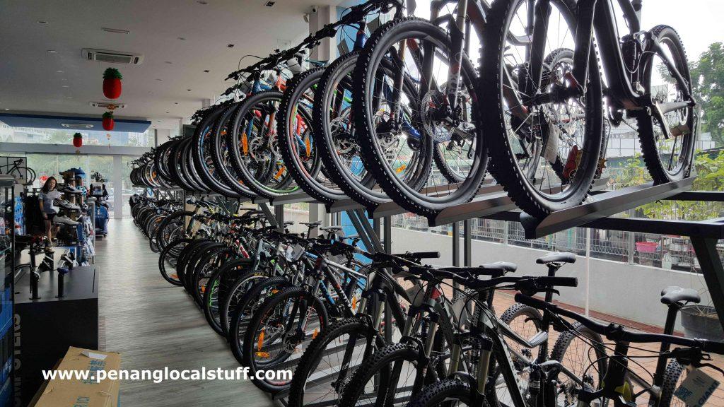 Inside Giant Bicycles Tanjung Tokong