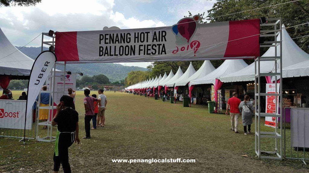 Penang Hot Air Balloon Fiesta 2018 Entrance