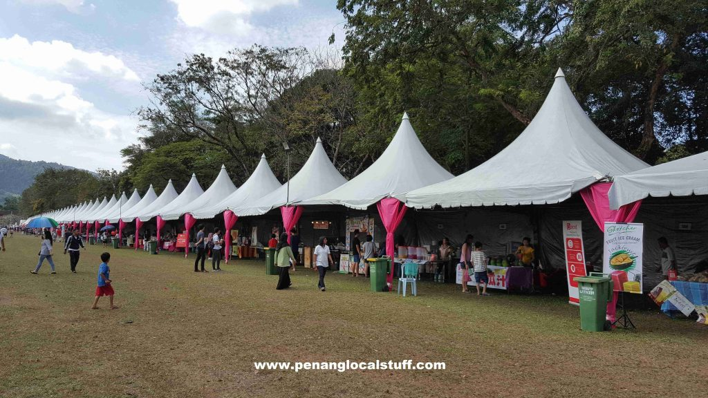 Penang Hot Air Balloon Fiesta 2018 - Food Stalls