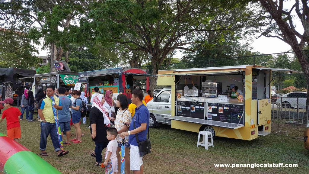 Penang Hot Air Balloon Fiesta 2018 - Food Trucks