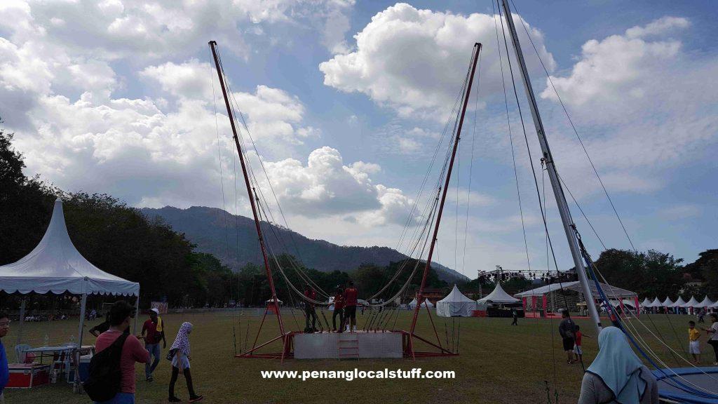 Penang Hot Air Balloon Fiesta 2018 - Reverse Bungee Jump
