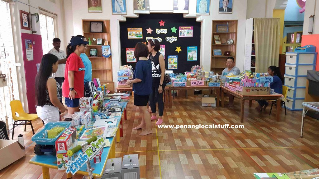 The Learning Garden Sports Day Book Sale