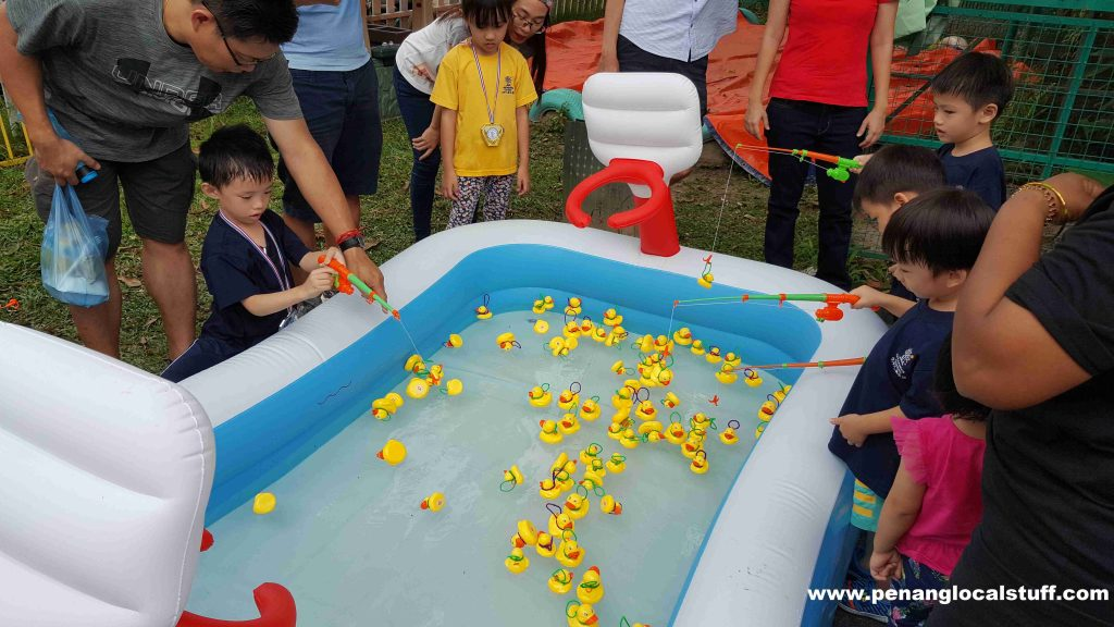 The Learning Garden Sports Day Fish The Duck Game