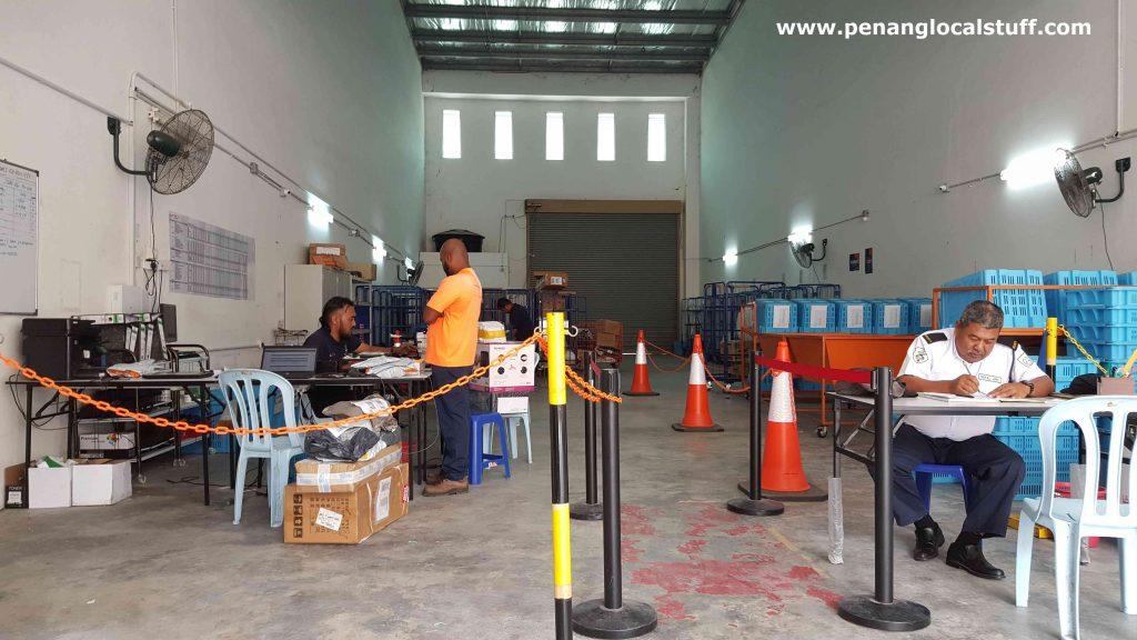 Inside Lazada Express Bayan Lepas