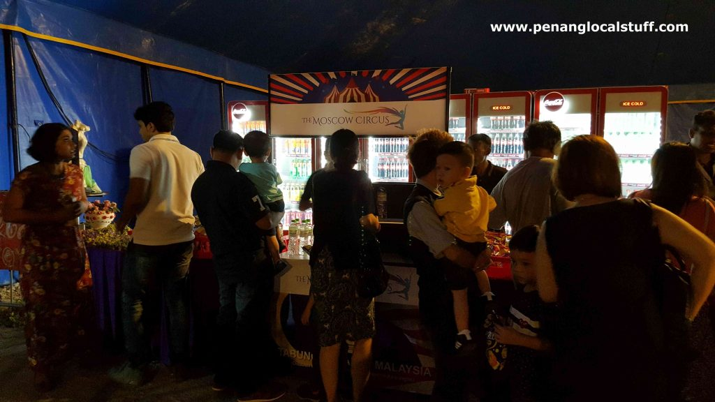 The Moscow Circus Drinks Stall